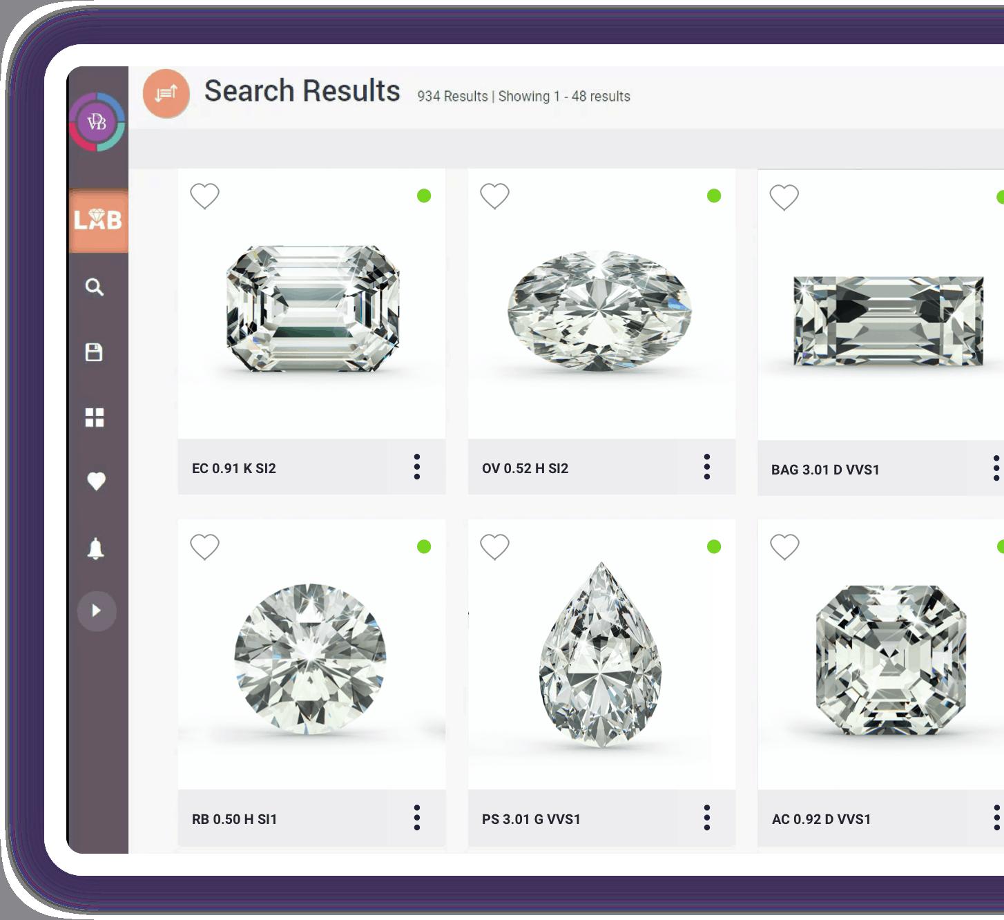Virtual Diamond Boutique