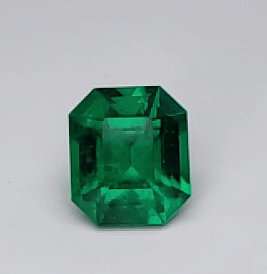 butterfly wing Colombian emeralds.