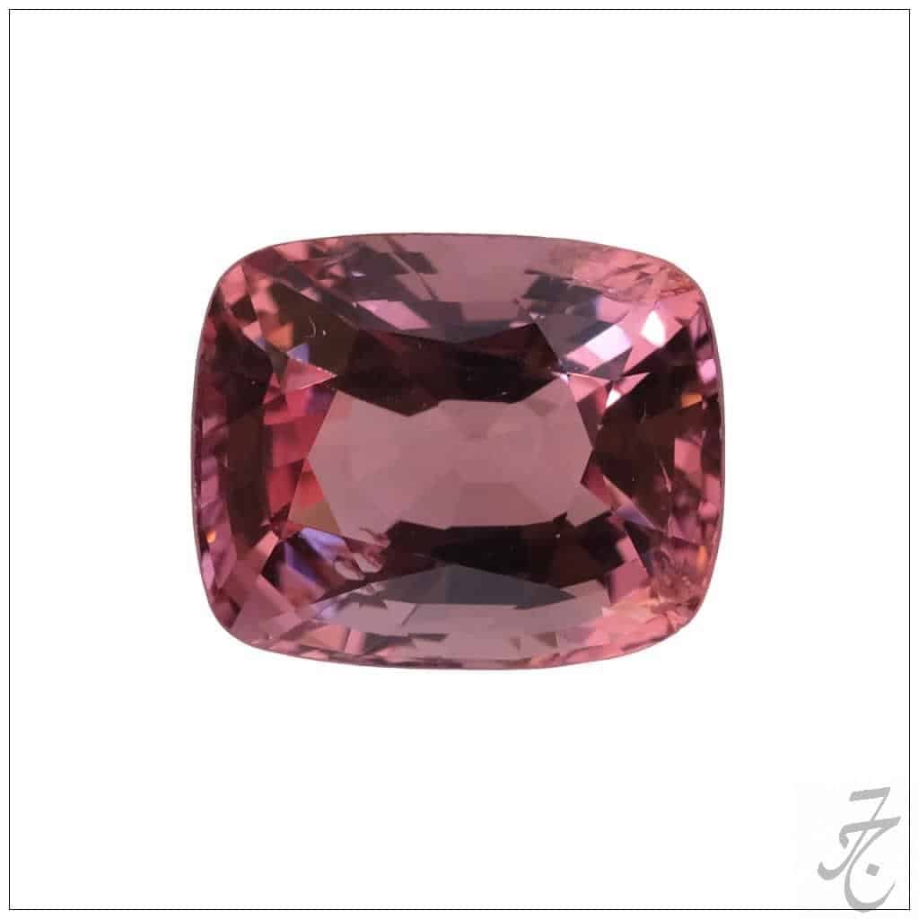 3.84-ct untreated Burmese pink spinel