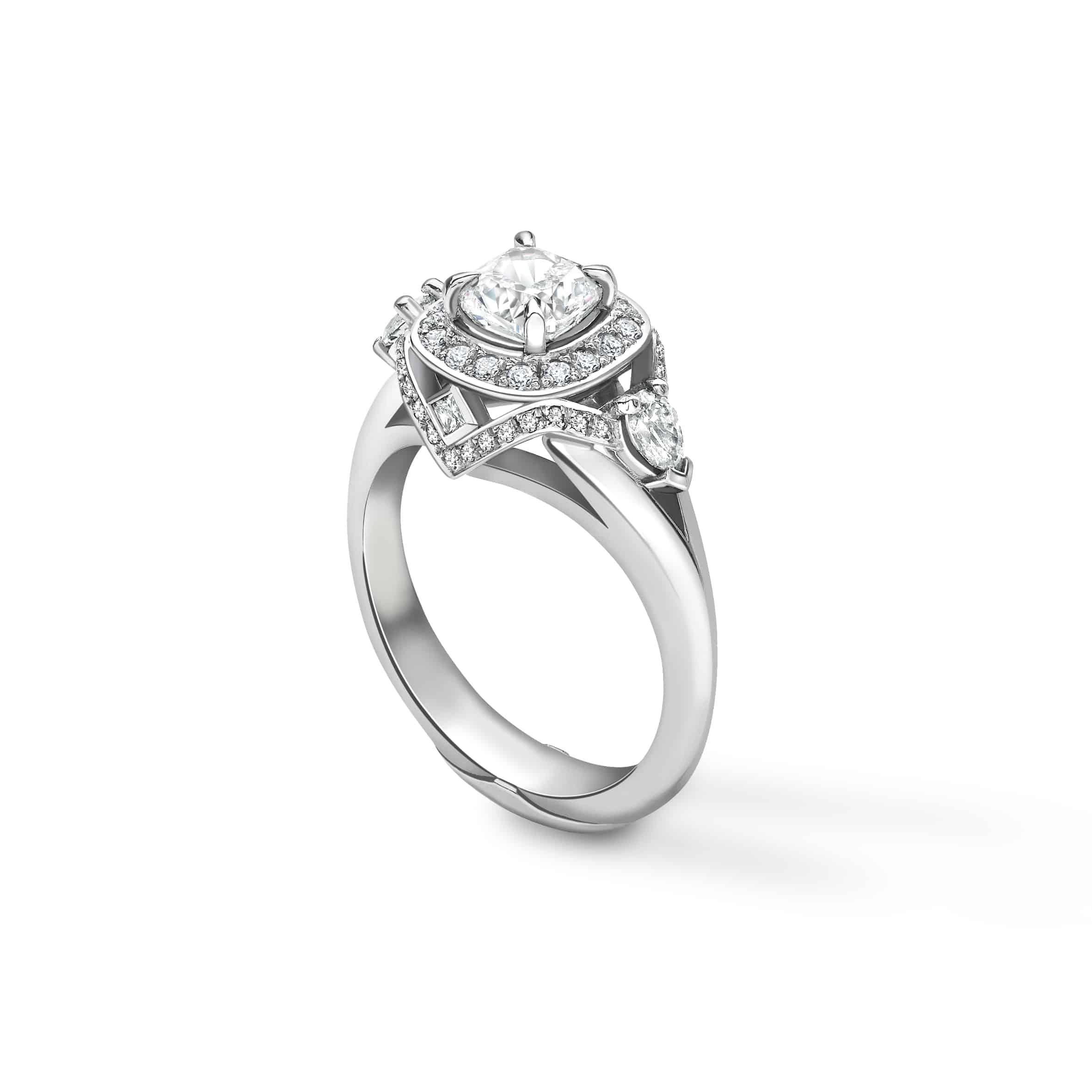 PureJewels Gaja Ring in platinum