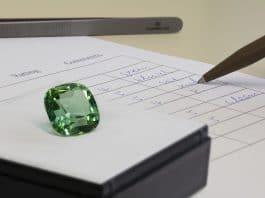 Coloured Gemstone Rating