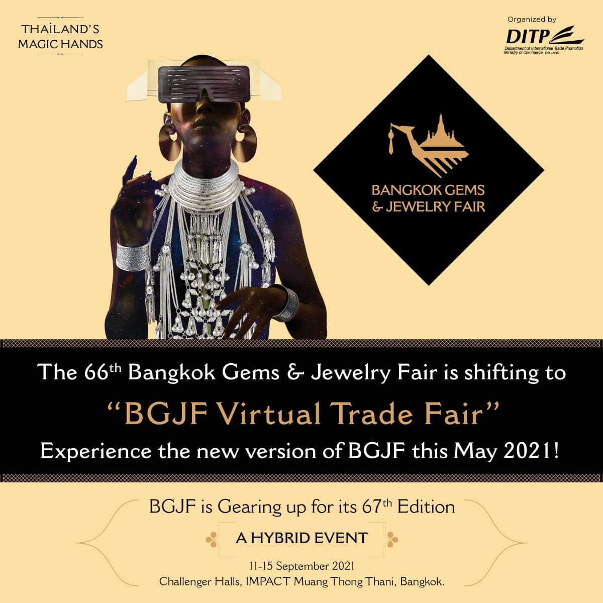 Bangkok Gems & Jewelry Fair shifted to virtual event in May