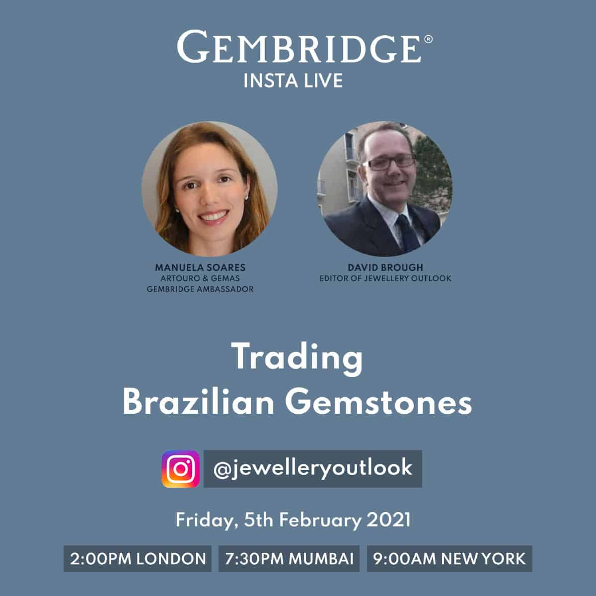Insta live with Gembridge
