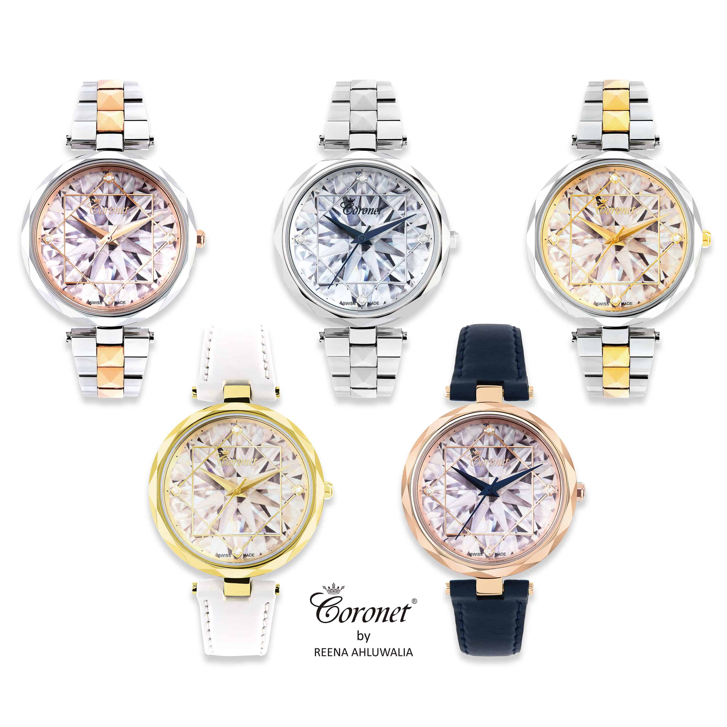 Coronet By Reena diamond watches