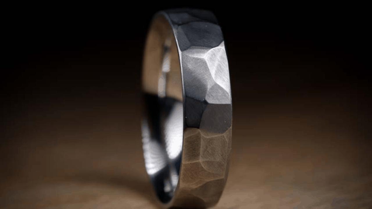 steel and titanium jewellery