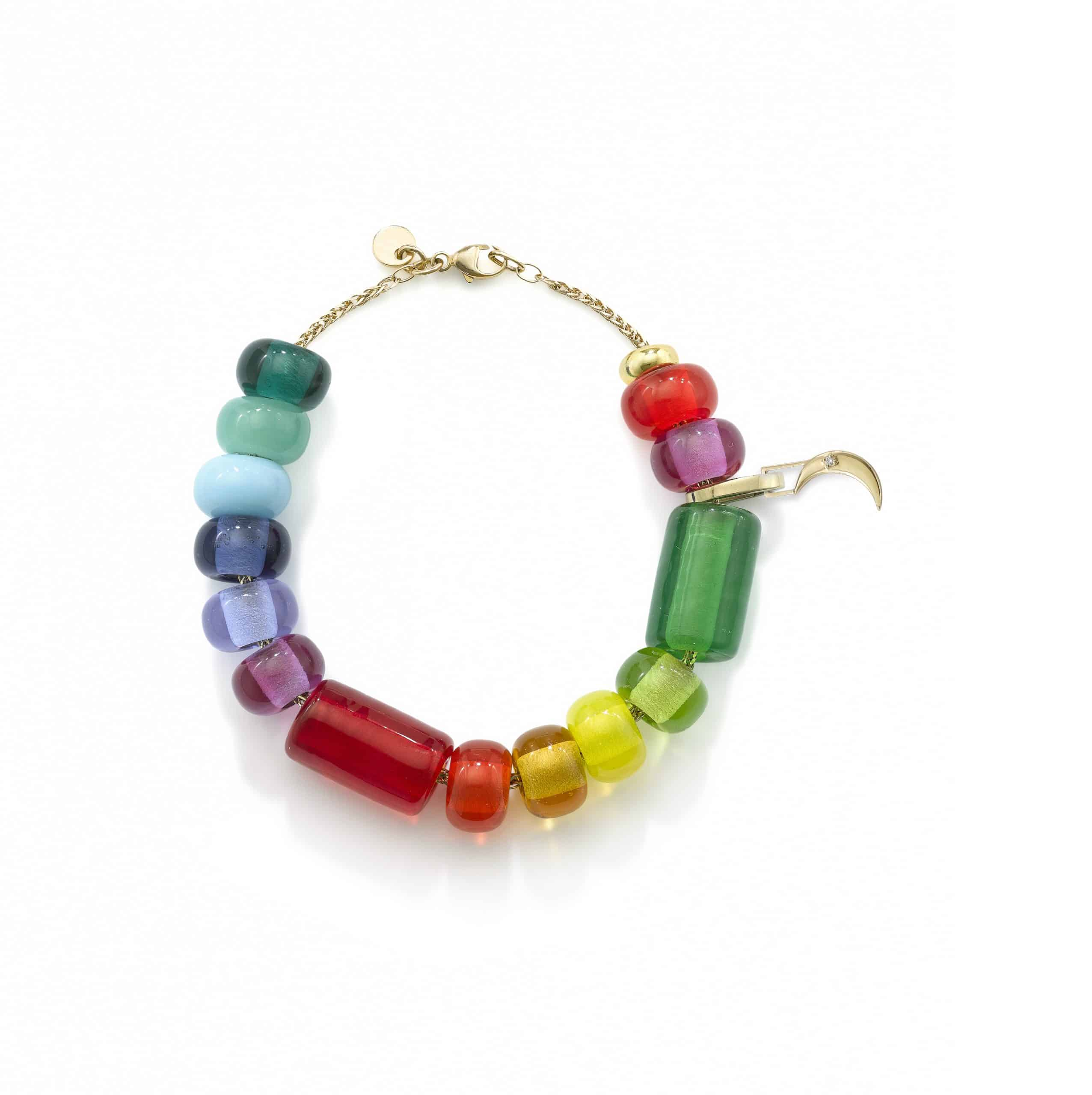 colourful beaded necklaces and bracelets