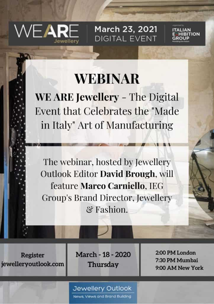We are Jewellery Webinar