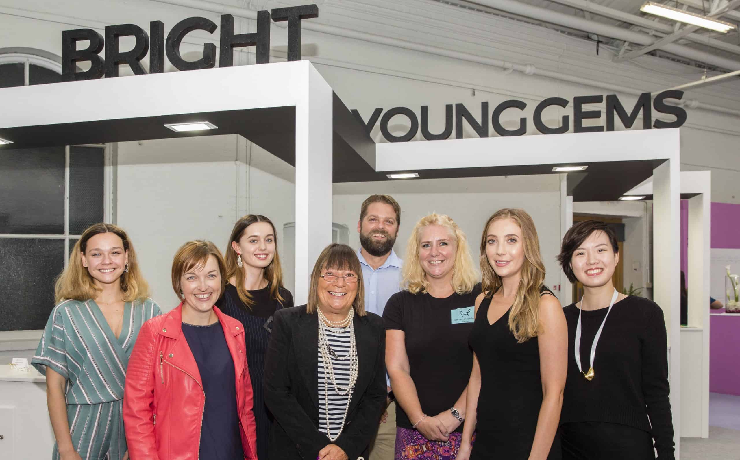 The launch of Bright Young Gems for jewellery designers announced in UK