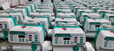 Medical equipment donated by GJEPC to Surat-based hospitals