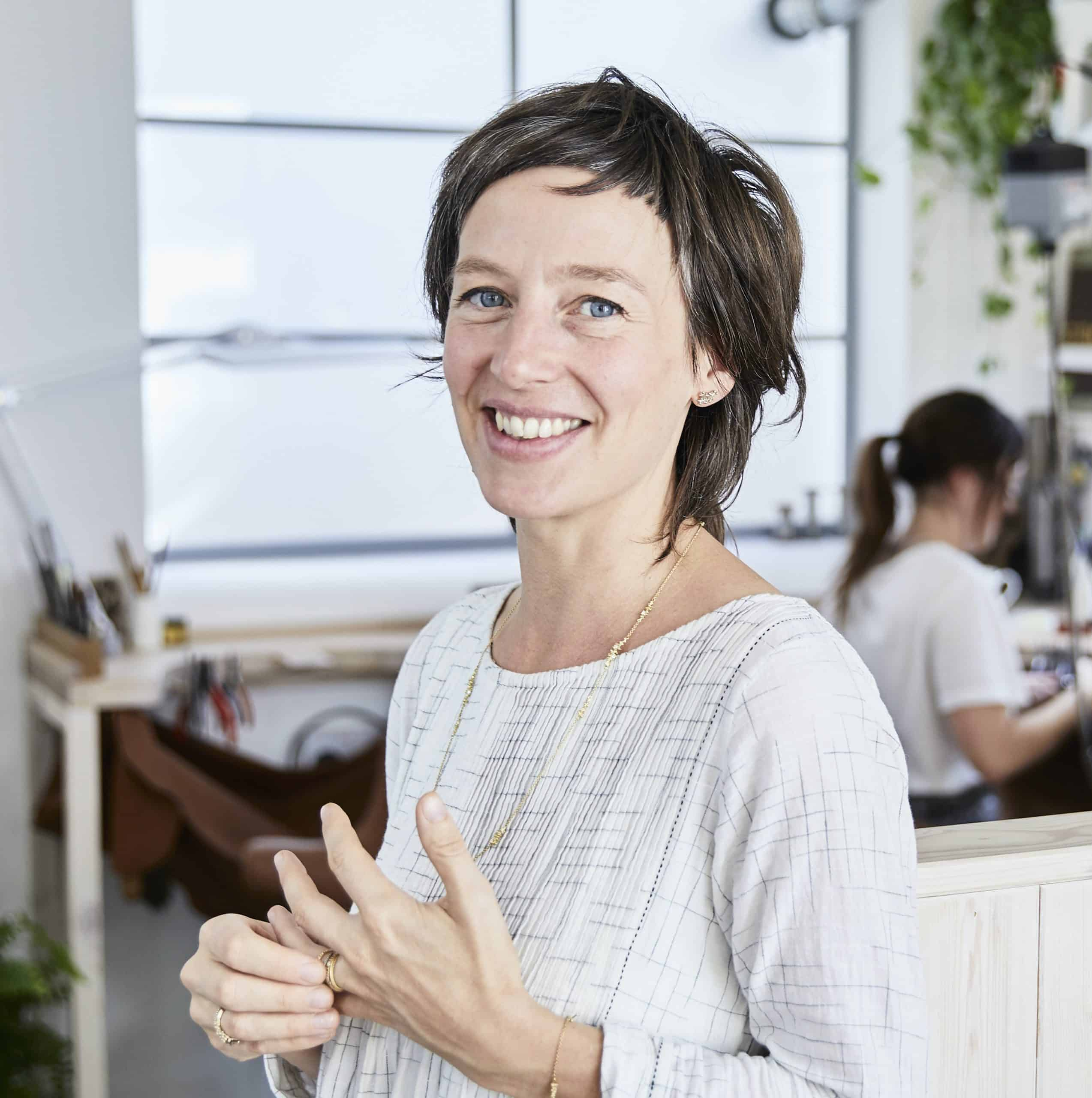 Fine jeweller Ruth Tomlinson