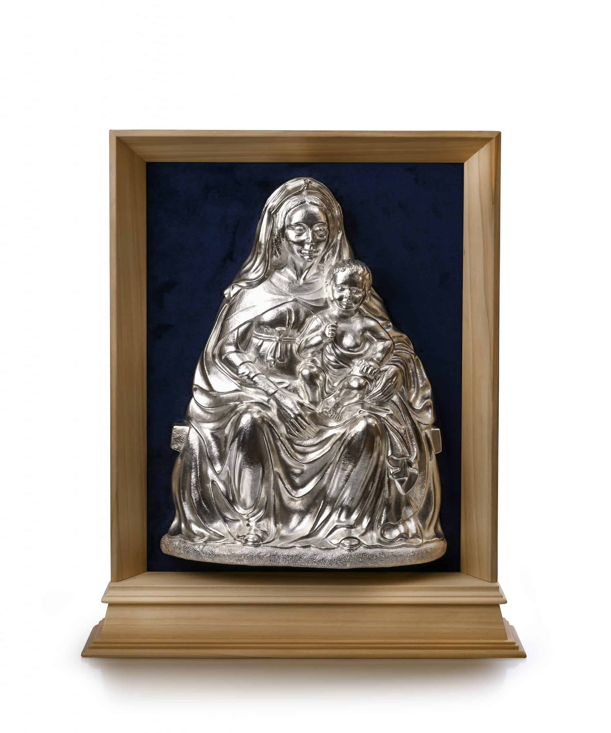 Chased Relief of Madonna and Child