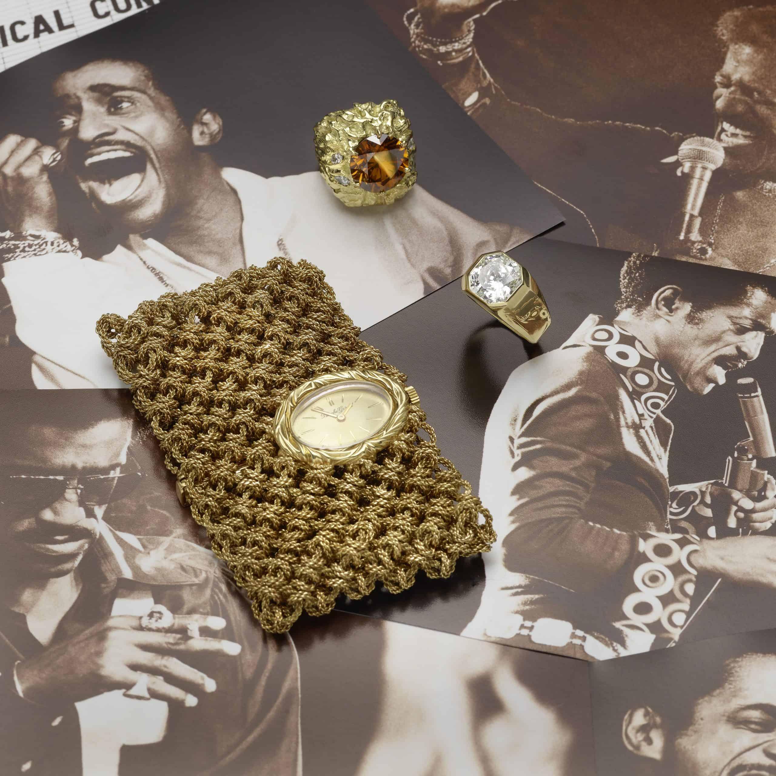 Sammy Davis Jr Assortment of jewelry