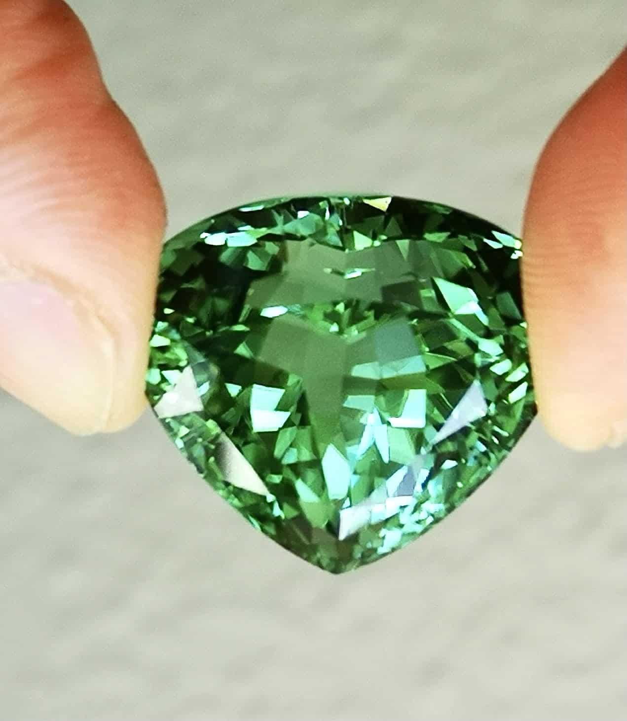 43.50-carat green tourmaline