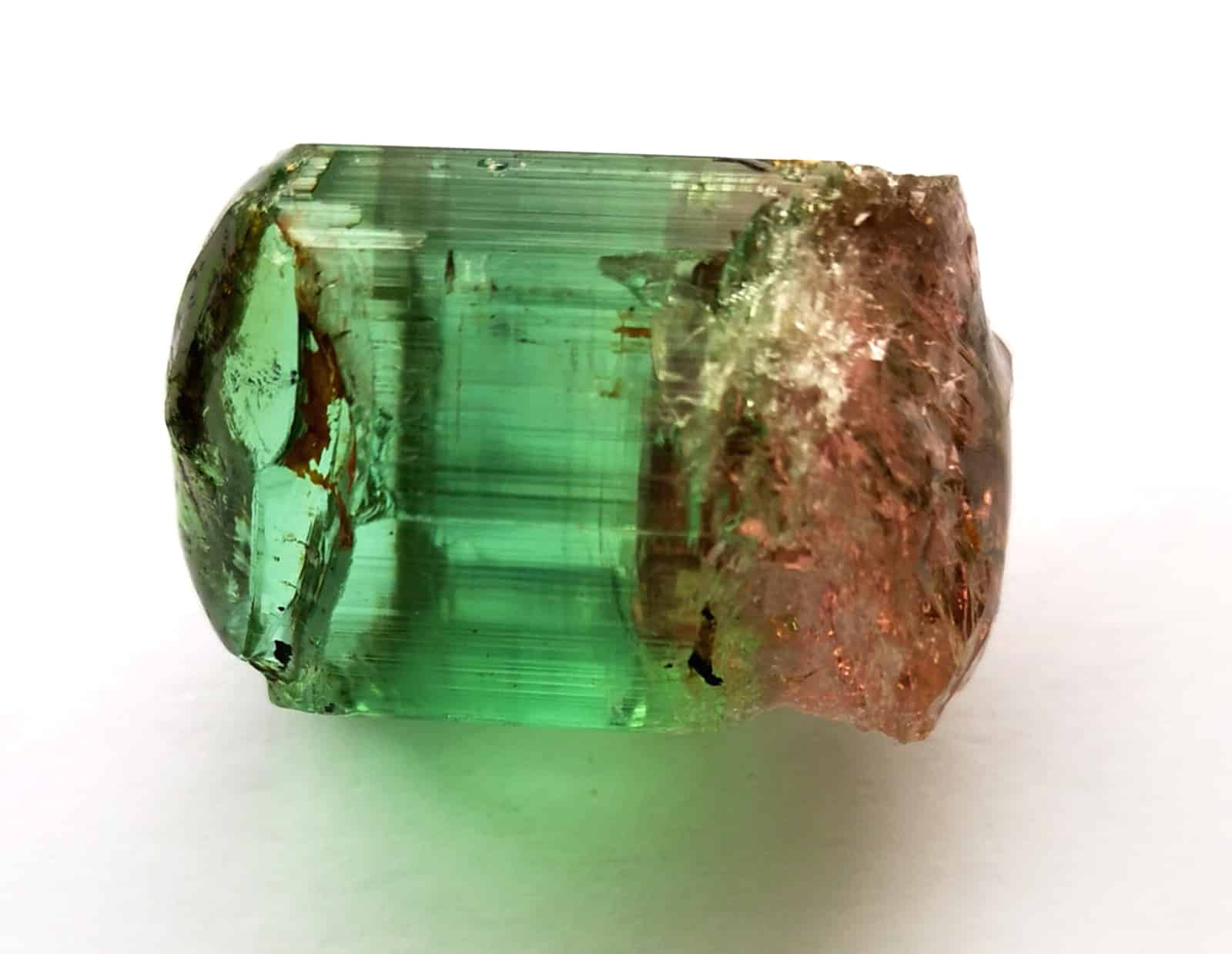 Rough tourmaline later cut into stones listed on Gembridge