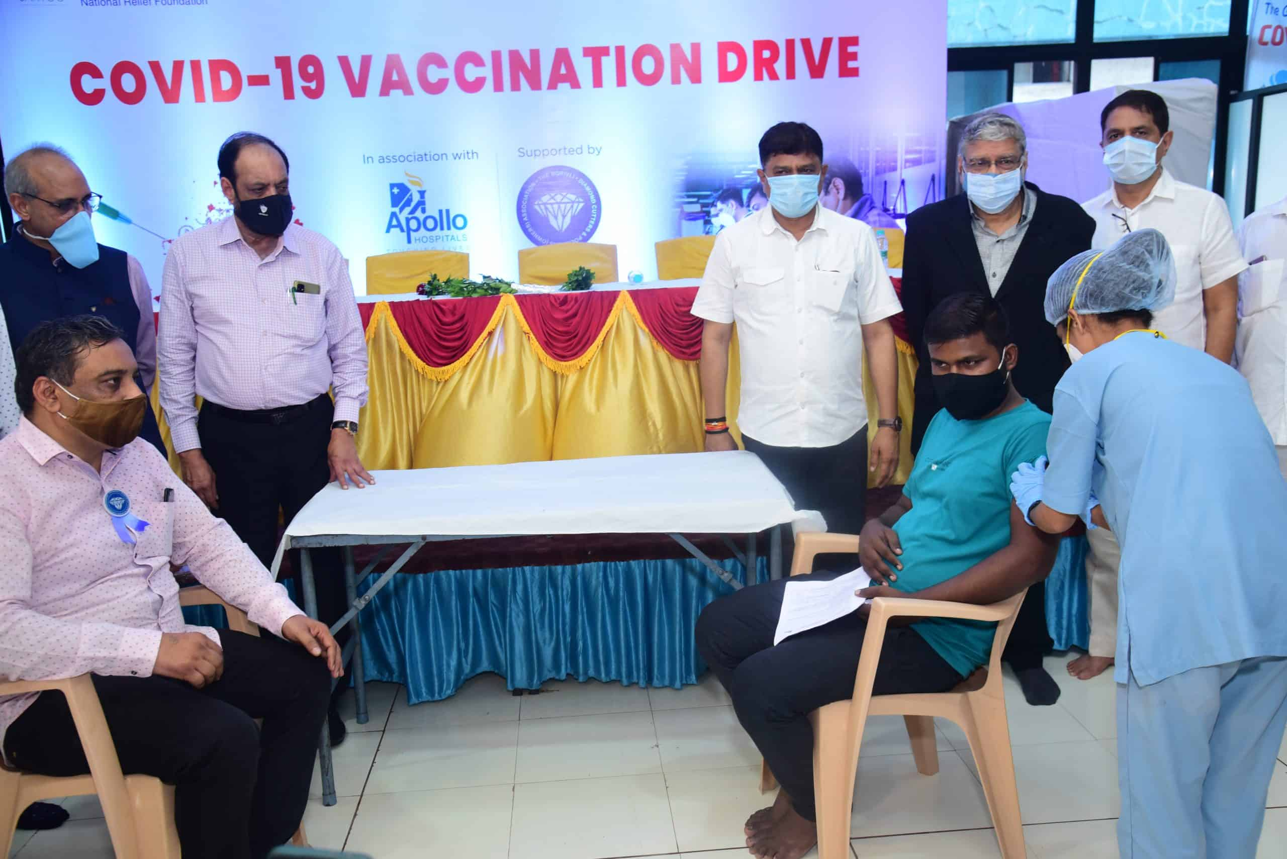 vaccination drive for artisans