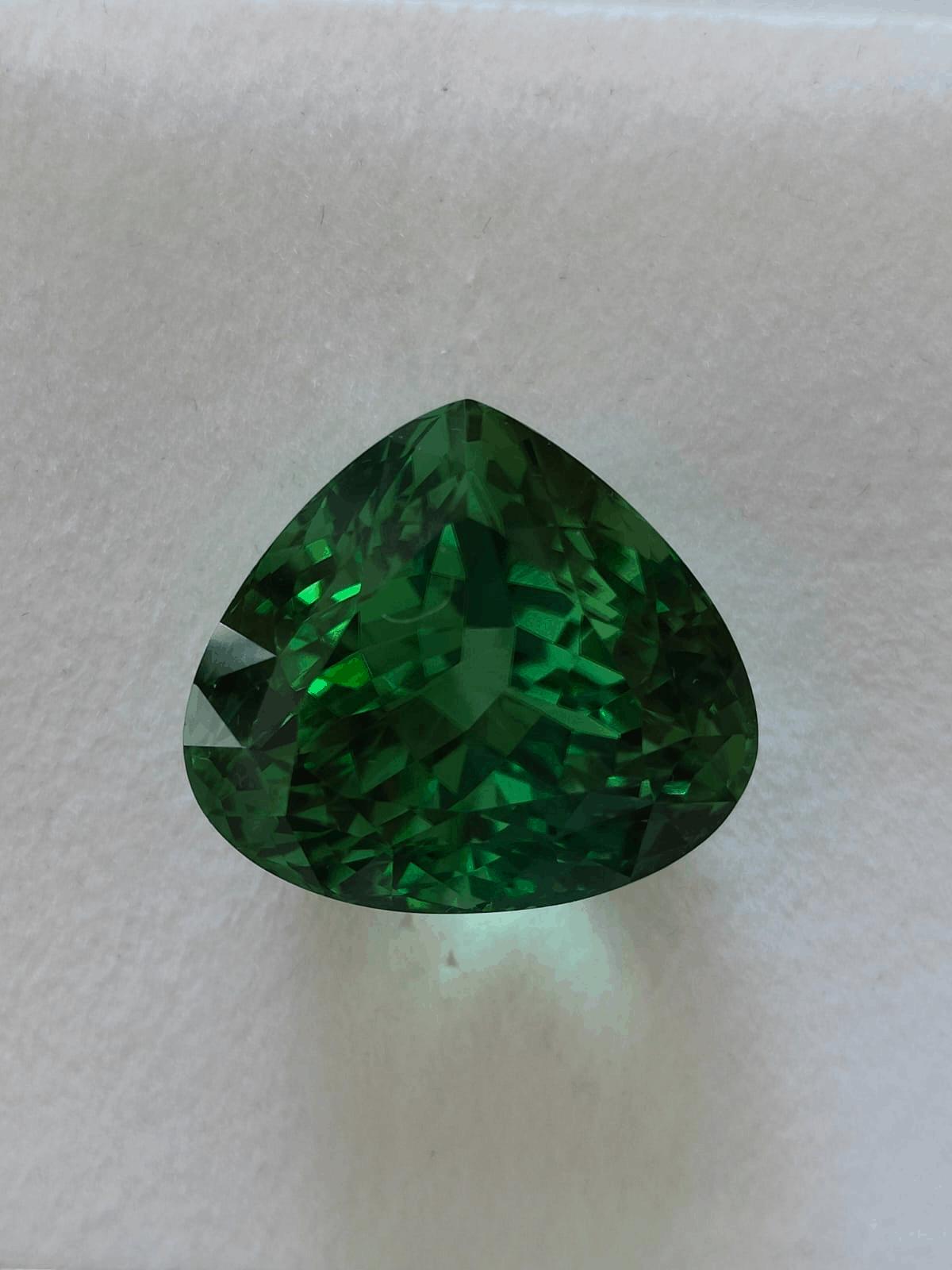 43.50-ct green tourmaline