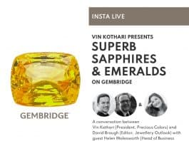 Superb Sapphires & Emeralds