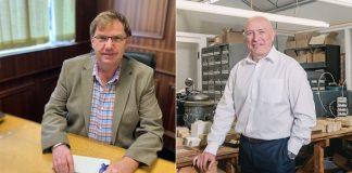 National Association of Jewellers (NAJ) President, David Doyle, and Chairman, Gary Wroe.