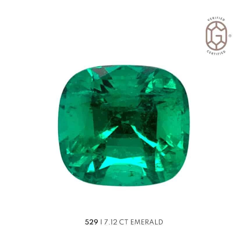 7.12 carat emerald