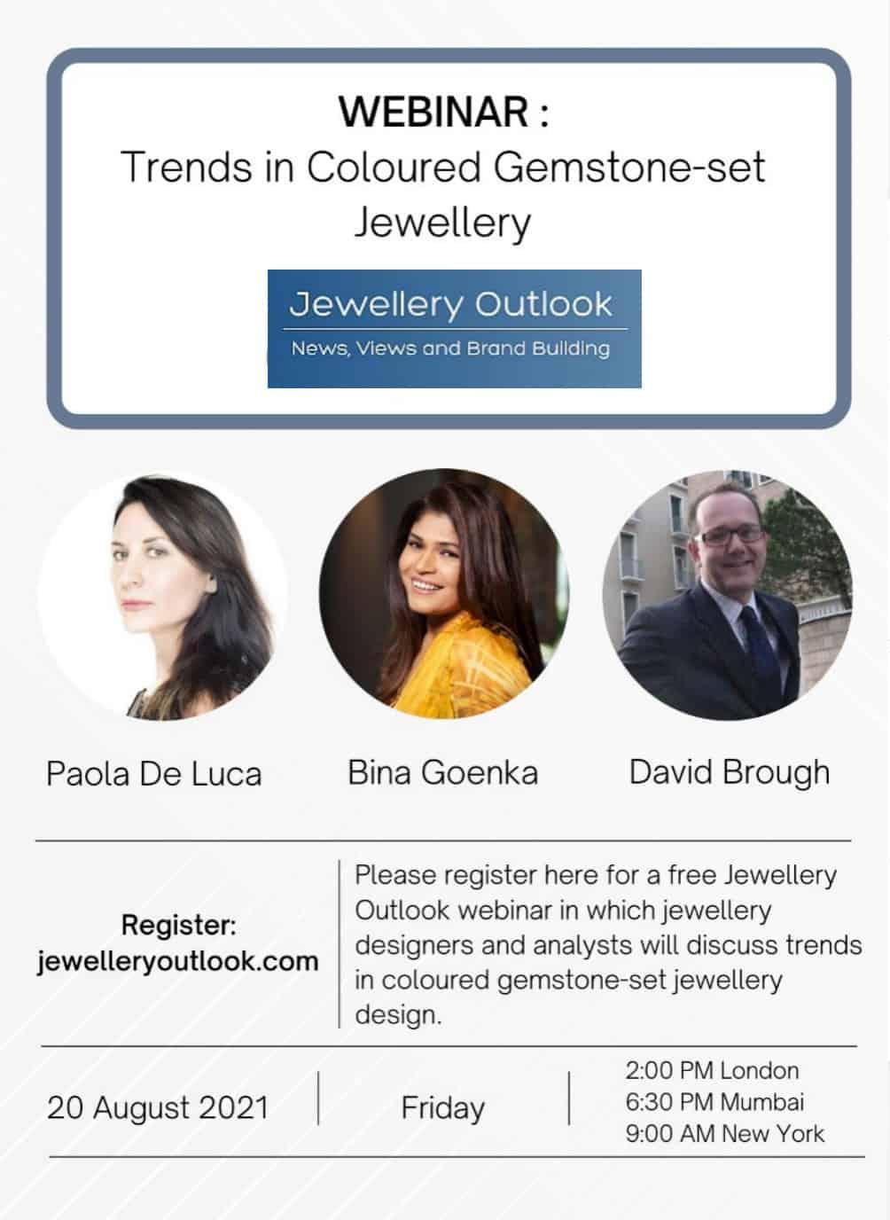 WEBINAR REPLAY – Emerging trends in coloured gemstone-set jewellery design