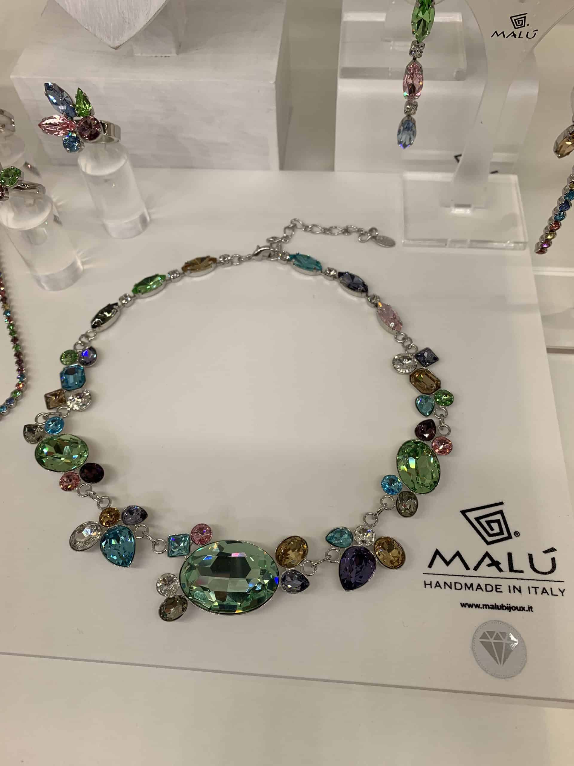 MALU, crystal jewellery handcrafted in Vicenza