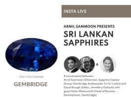 Insta Live - Sri Lankan Sapphires