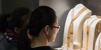 Italian jewellery on display