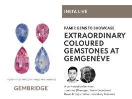 Insta Live - Extraordinary coloured gemstones at GEMGENEVE