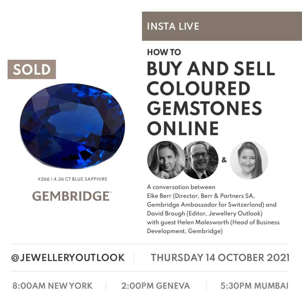 UPCOMING INSTA LIVE – How to buy and sell coloured gemstones online