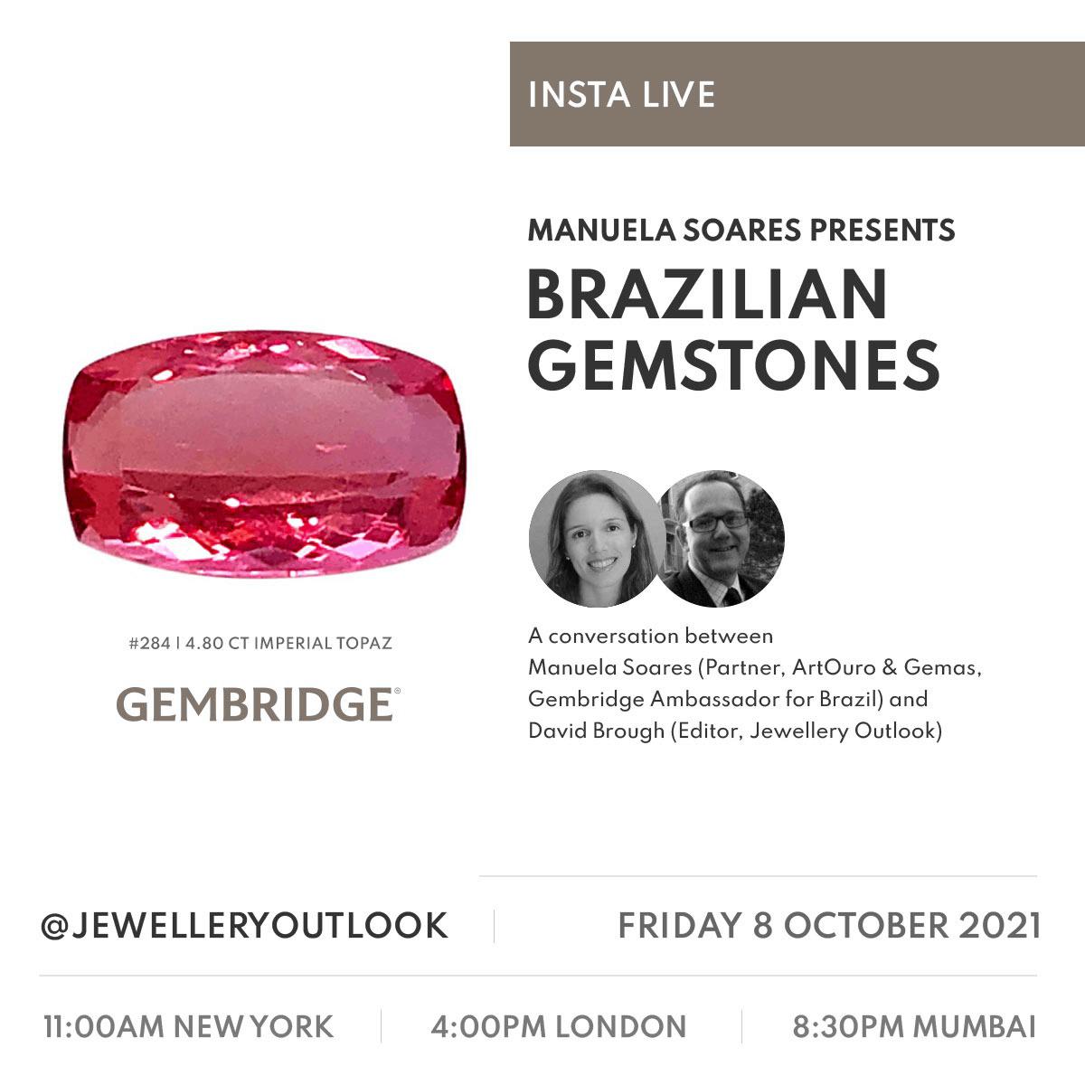 Insta Live - Brazilian Gemstones